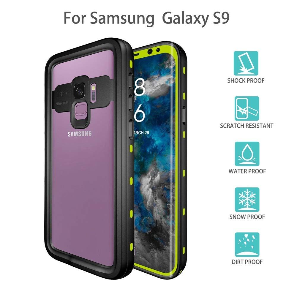 XIAOGUA Fundas & Covers Para Samsung Galaxy S9, Debajo del agua Completo Caja estanca de cubierta impermeable IP68 a prueba de polvo Certificado Snowproof prueba de golpes Para Samsung Galaxy S9: Amazon.es: