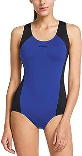 BALEAF Women's Conservative Athletic Racerback One Piece Training Swimsuit Swimwear Bathing Suit