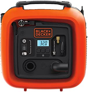 BLACK+DECKER BDINF12C 12V Multipurpose Portable Cordless Inflator