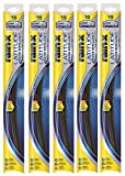 Rain-X 5079274-2-5PK Latitude 2-IN- 1 Water Repellency Wiper Blade, 16' (Pack of 5)