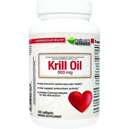 Krill 500mg Soft Gels 180ct