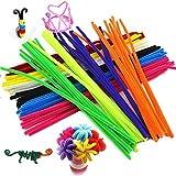 24colores limpiapipas para Manualidades (chenilla tallos 6mmx12