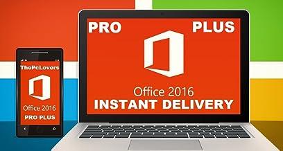Microsoft Office 2016 Professional Plus - Digital Download