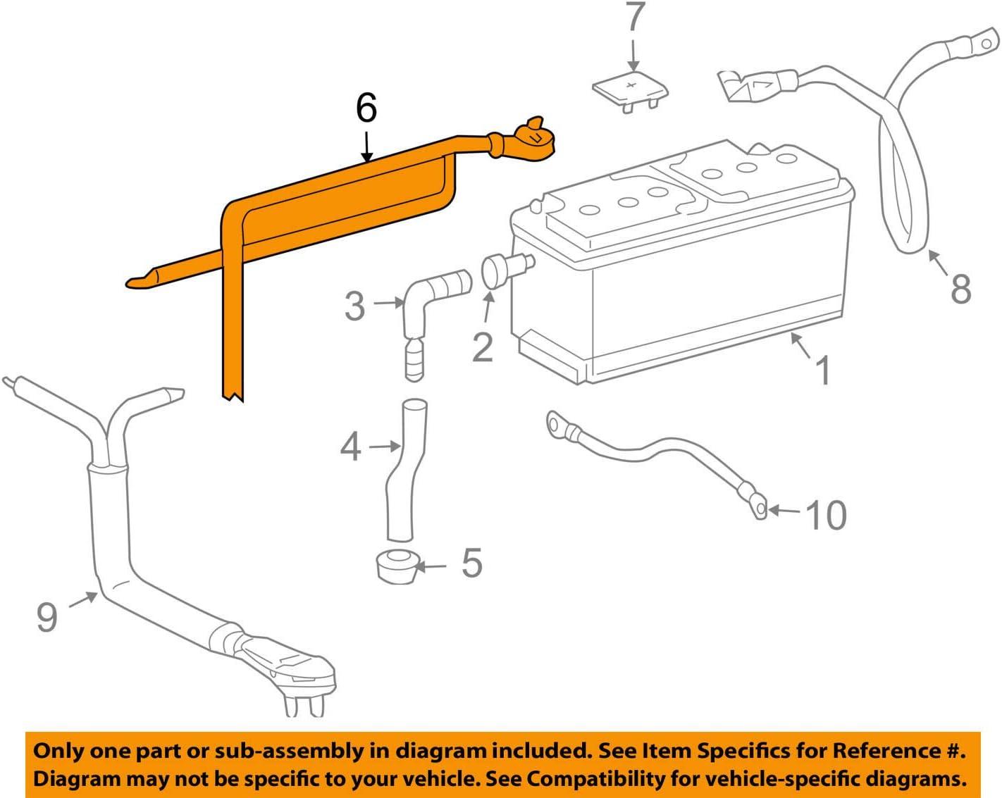 Mercedes OEM 04-09 Luxury goods SL600 Rare Cable 5.5L-V12 2305407 Battery-Positive