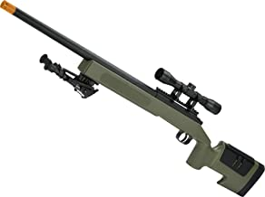 Evike Mcmillan USMC M40A3 SportLine Airsoft Sniper Rifle by ASG