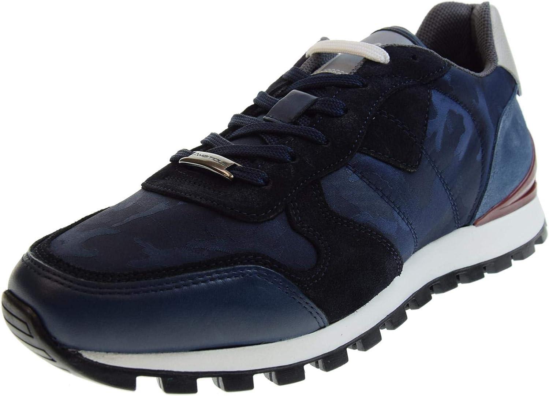 AMBITIOUS -skor män män män låga gympaskor 8061 blå  heta sportar