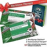 Die Kleine Therapie für Bremen-Fans | 2X süße Saison-Schmerzmittel | Witzige Geschenke & Fanartikel by Ligakakao.de | Besser als Kaffee-Tasse, Kaffeepott, Becher oder Fahne