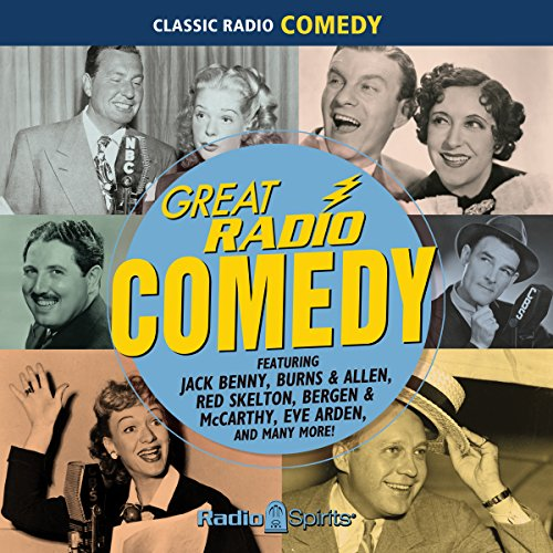 Couverture de Great Radio Comedy