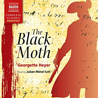 The Black Moth audiobook cover art