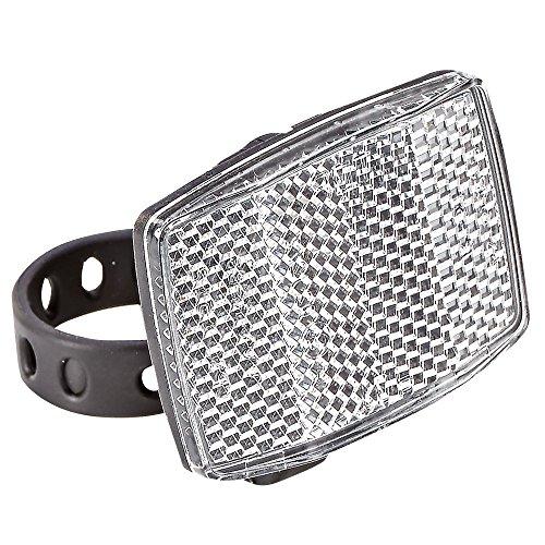 Prophete MTB-Reflektor mit Halter, weiß fahrradreflektor, schwarz, L