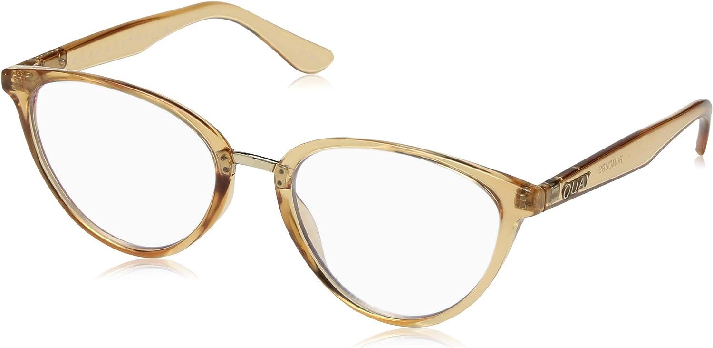 QUAY AUSTRALIA Womens Rumors  bluee Light Glasses