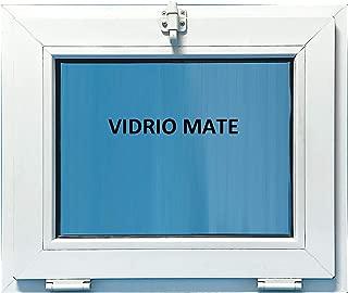 Ventana Pvc Baño 600x500 Golpete Abatible Climalit Mate