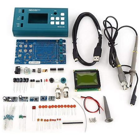 Digital Speicher Oszilloskop Bausatz Dso Oszilloskop Zerlegte Teile Lehrsatz Einschließlich Lcd Display Und 20 Mhz Sonde Gewerbe Industrie Wissenschaft
