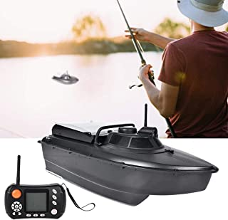 Alomejor Fish Bait Boat GPS Sonar RC Fishing Lure Boat Auto Navigation Remote Control Wireless Fish Finder Boat