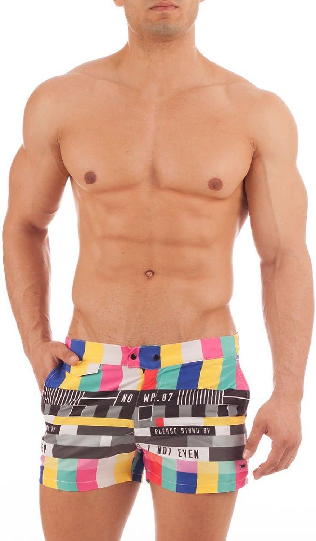 Holas Beachwear Men's Swimming Shorts bluee Mixed