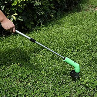 ReeeR Portable Grass Trimmer Cordless Garden Lawn Weed Cutter Edger Zip Ties Kits Lawn Grass Trimmer Powerfully Clips Mowing Tool