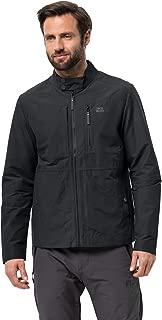 Jack Wolfskin Men's Port Lincoln Jacket Short Biker Style Jacket Pfc Free