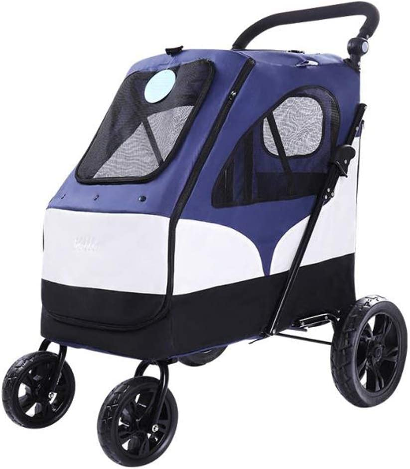 Indefinitely CHENGLONGTANG Pet Stroller Dog Wheelchair Large Animer and price revision P