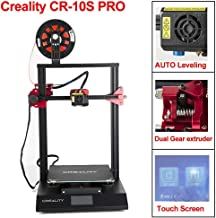 CCTREE Creality CR-10S Pro with Upgraded Auto-Level, Touch Screen, Capricorn PTFE,Bondtech Extruder Gears,Large Build Size 3D Printer 300x300x400mm