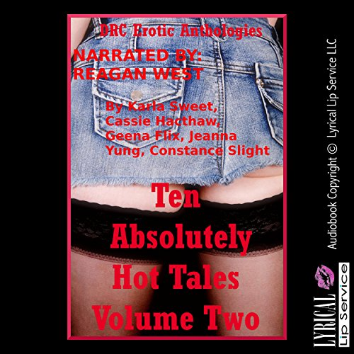 Ten Absolutely Hot Tales Volume Two audiobook cover art