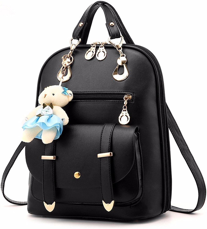 Shoulder Bag Backpack Woman Bag with Large Capacity Ladies Bag