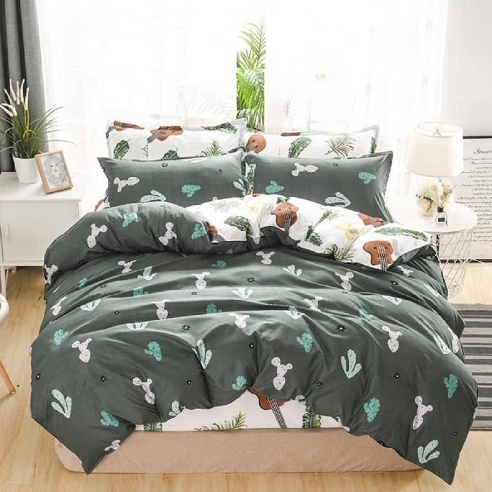 outlet Erosebridal Cactus Bedding Set Palm Comforter Mus Cover Topics on TV Leaf