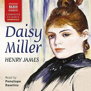 Daisy Miller audiobook cover art