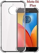 Jkobi Rubber Back Cover for Motorola Moto E4 Plus - Transparent