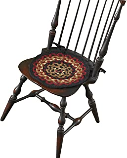 Park Designs Folk Art Braided Chairpad
