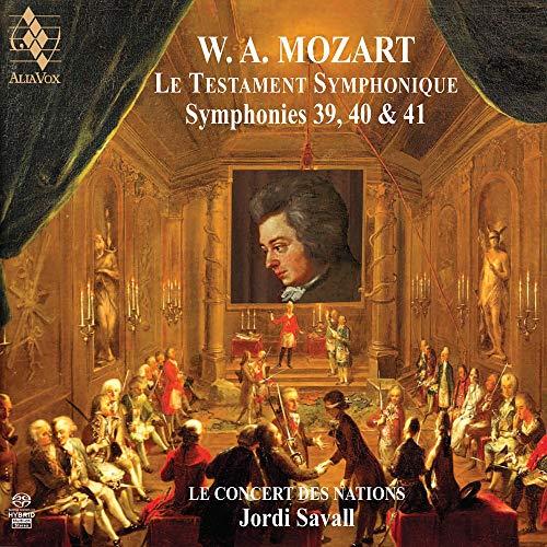Le Testament Symphonique - Sinfonie N.39 K 543, N.40 K 550, N. 41 K 551