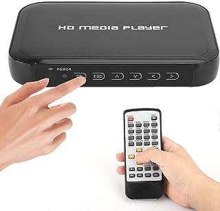 HDMI-multimediaspeler, 1080P mini HDMI-multimediaspeler, ondersteuning voor SD / MMC-kaart, U-schijf, mobiele harde schijf...