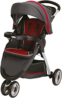 Graco Fast Action Fold Sport Click Connect Stroller [Chili Red, 1893817]