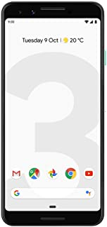 Google Pixel 3 64GB Clearly White Unlocked (Renewed)