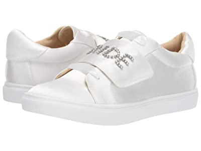 Blue by Betsey Johnson Liana Sneaker (Ivory Satin) Women