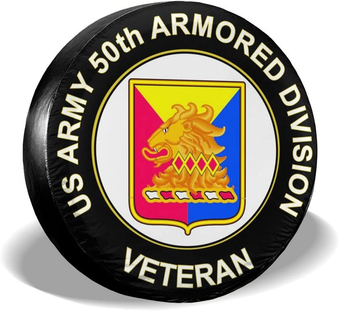 Babyjoey Us Army 50th Armor It is very popular Unit Covers Philadelphia Mall Spare Crest Tire Veteran