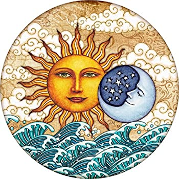 TIRE COVER CENTRAL Ocean Sunrise Sun Moon Spare Tire Cover  Select tire Size/Back up Camera in MENU  Custom Sized to Any Make/Model 255/75r17 Dan Morris c