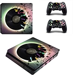Toys BY060107 Fashion Sticker Icon Protective Film for PS4 Slim