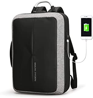 Mark Ryden Anti-Theft Cosmo Series Water Resistant Laptop Backpack with USB Charging Port Fits 15.6-inch Laptop + Numeric ...
