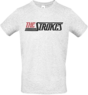 100/% algod/òn LaMAGLIERIA Camiseta de Tirantes Hombre The Strokes Full Color