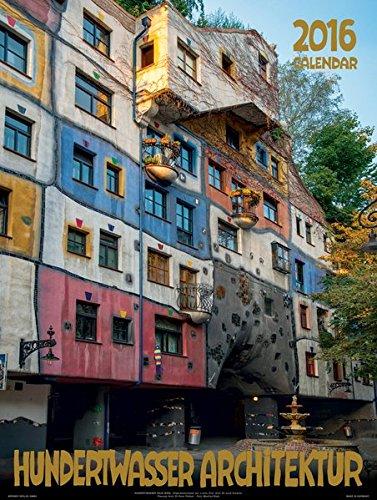 Großer Hundertwasser Architektur Kalender 2016: Das Original