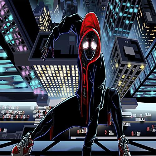 Amacigana Lot de 2 taies d'oreiller Spiderman 40 x 60 cm – 100 % jersey microfibre 150 g/m² – Housse de coussin – Résistant et hypoallergénique