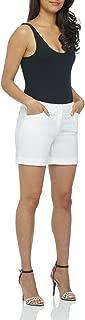 Women's Stretch Cotton Spandex Cuffed Perfect Chino Short