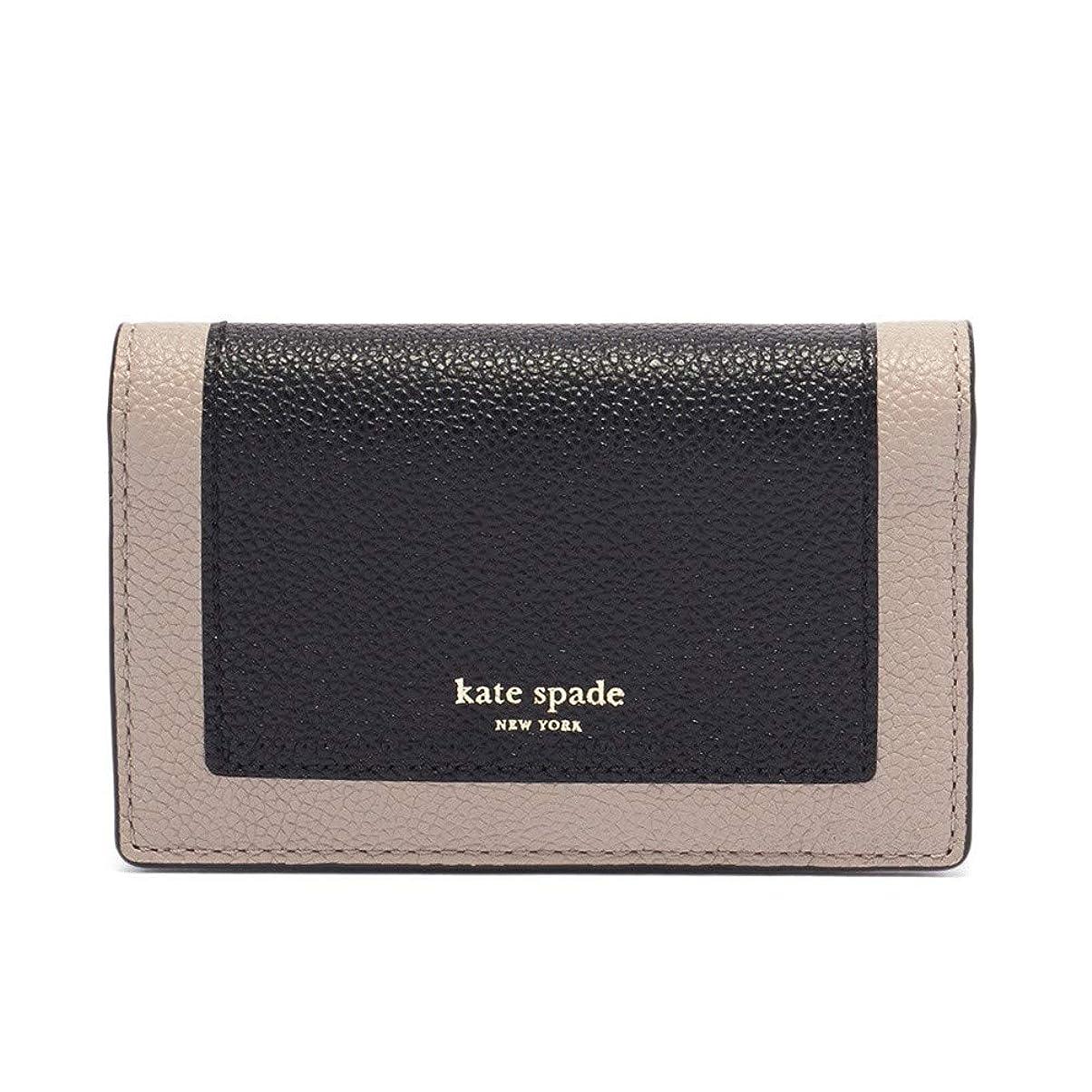 十分なレッスン主[ケイトスペード] Kate Spade カードケース マルゴー PWRU7157 106 BLK/WMTAUP [並行輸入品]