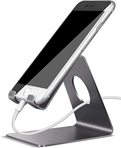 Lamicall Cell Phone Stand, Phone Dock : Cradle, Holder, Stand, Compatible with Phone 12 Mini 11 Pro Xs Xs Max Xr X 8 ...