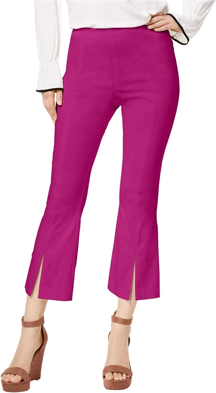 I-N-C Womens Split Hem Casual Cropped Pants