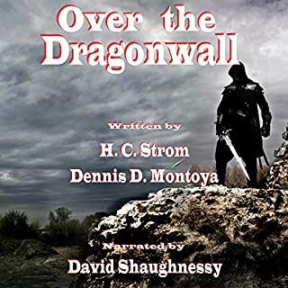 Over the Dragonwall audiobook cover art