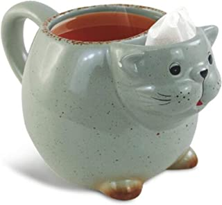 Volar Ideas 14oz Cat Tea Mug Green