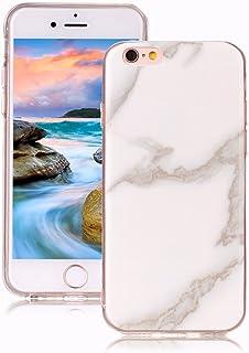 0618f0393e6 Yunbaoz Funda Compatible para iPhone 6 Plus Mármol, iPhone 6S Plus Case  Diseño Mármol Carcasa