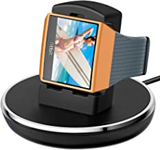 Compatible with Fitbit Ionic Charger, EPULY Accessories Women Men Charging Cable/Stand/Dock/Station with 3ft Compatible with Fitbit Ionic Smart Watch, Black