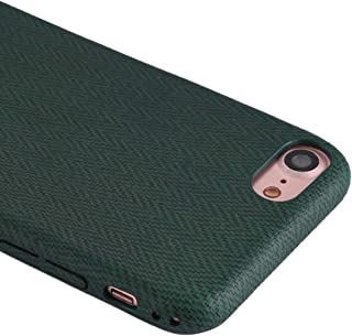 QFH For iPhone 8 & 7 TPU Wave Pattern Protective Back Cover Case (Green) new style phone case (Color : Green)